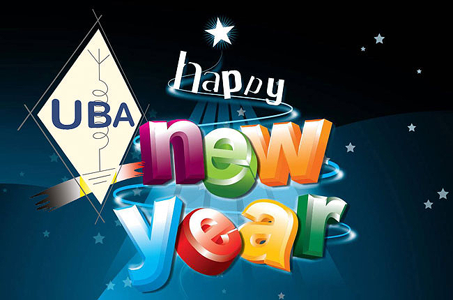 Happy New Year 2013 - UBA