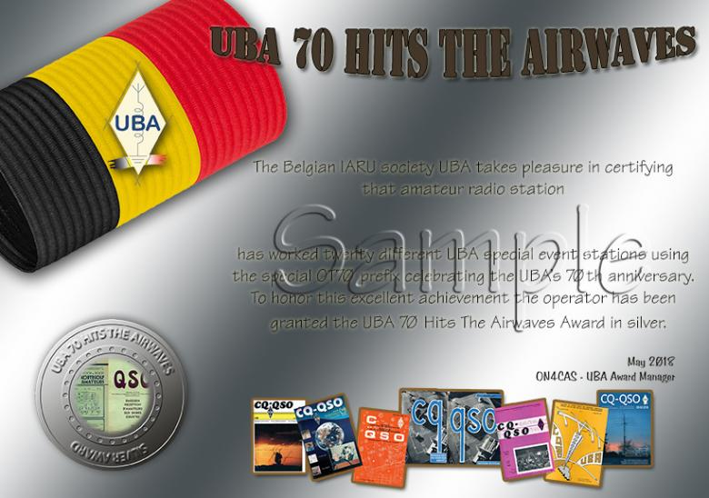 UBA 70 Hits The Airwaves