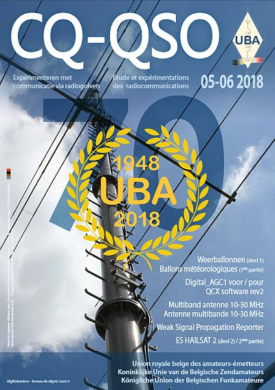 Cover CQ-QSO 05-06/2018
