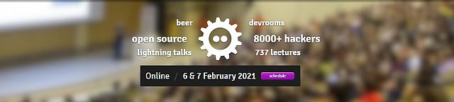 FOSDEM 2021 - Website
