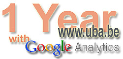 1 Year with Google Analytics