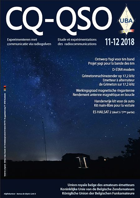 Cover CQ-QSO 11-12/2018