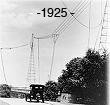 Radio antennas 1925