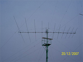 The antenna of UA0SJ
