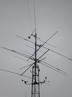 Pyloon en antennes ON3VY
